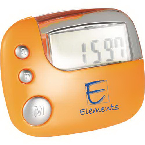 Personalized Easy View Pedometer
