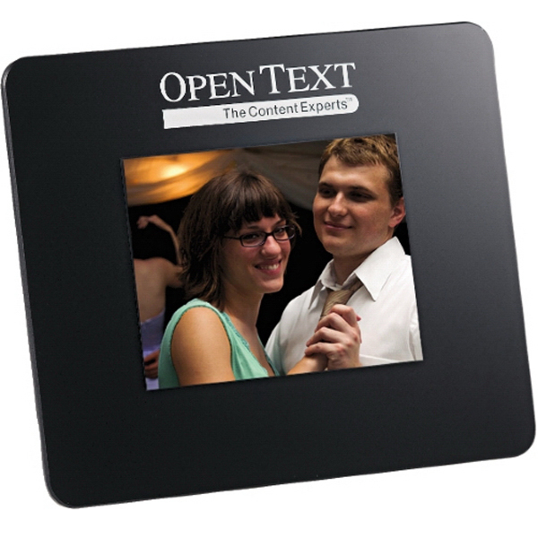"Promotional 3.5"" Black Digital Photo Frame"