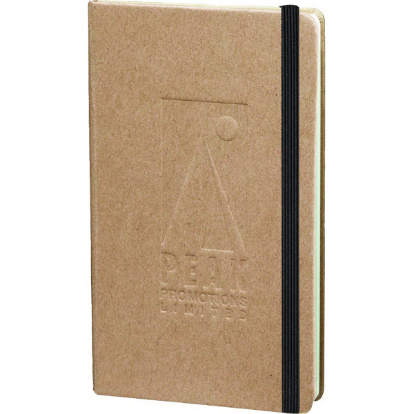 Customized Recycled Ambassador Pocket Bound JournalBook