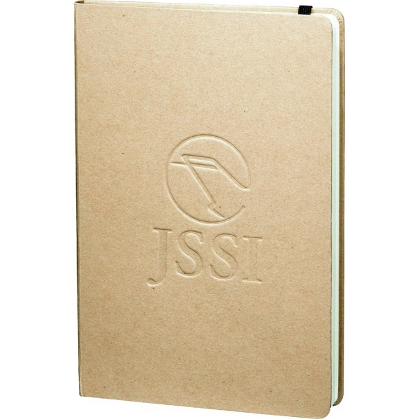 Imprinted Recycled Ambassador Bound JournalBook