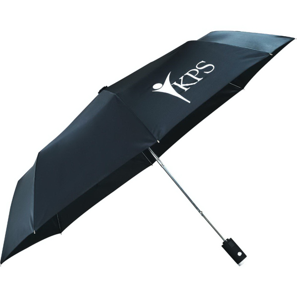 "Personalized 42"" Auto Open Flashlight Umbrella"