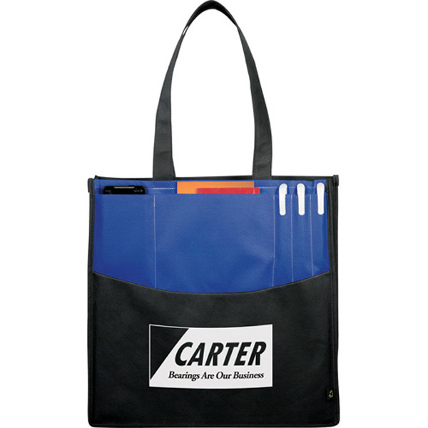 Personalized PolyPro Non Woven Panel Convention Tote