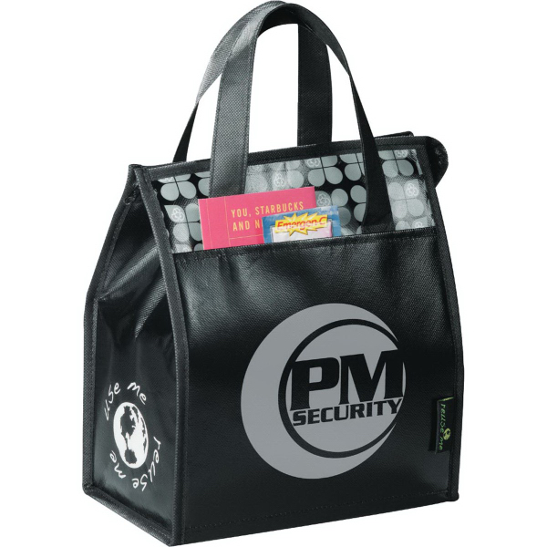 Imprinted Laminated Non-Woven Lunch Bag