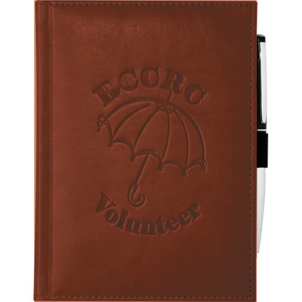 Imprinted Pedova (TM) Bound JournalBook