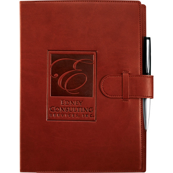 Imprinted Dovana (TM) Large JournalBook