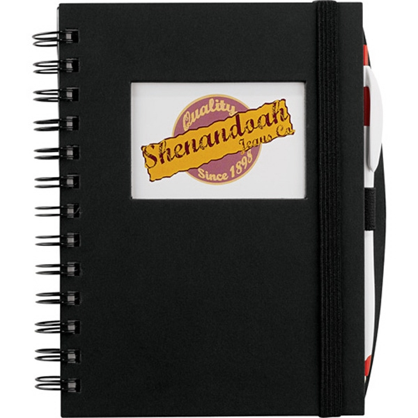Imprinted Frame Rectangle Hardcover JournalBook