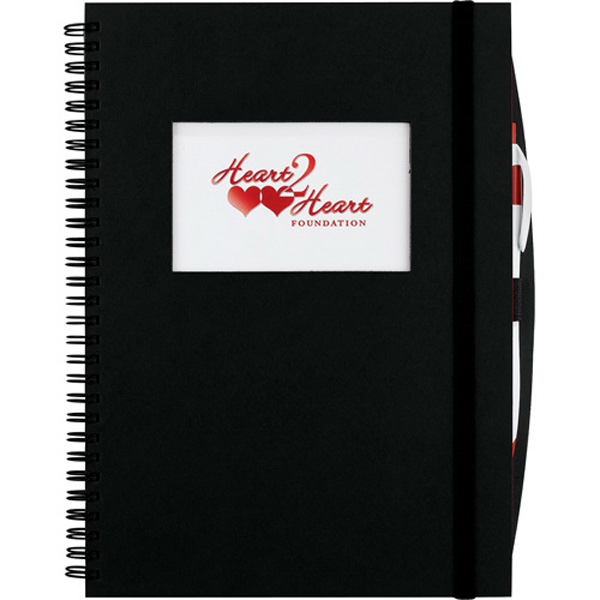 Personalized Frame Rectangle Large Hardcover JournalBook