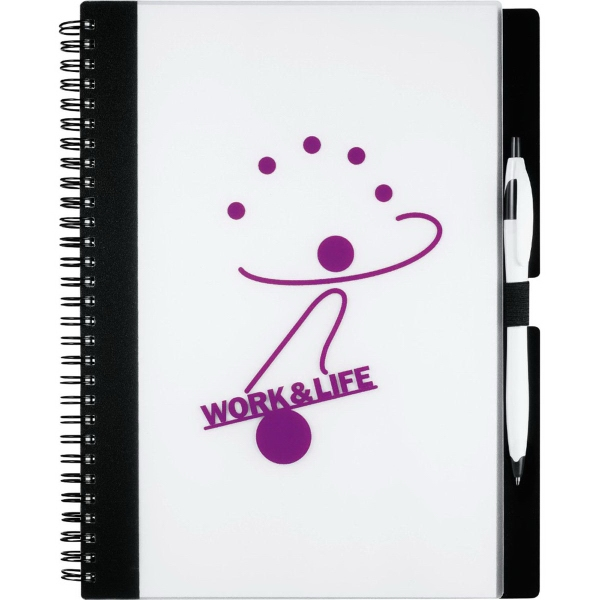 Imprinted Essence Large JournalBook