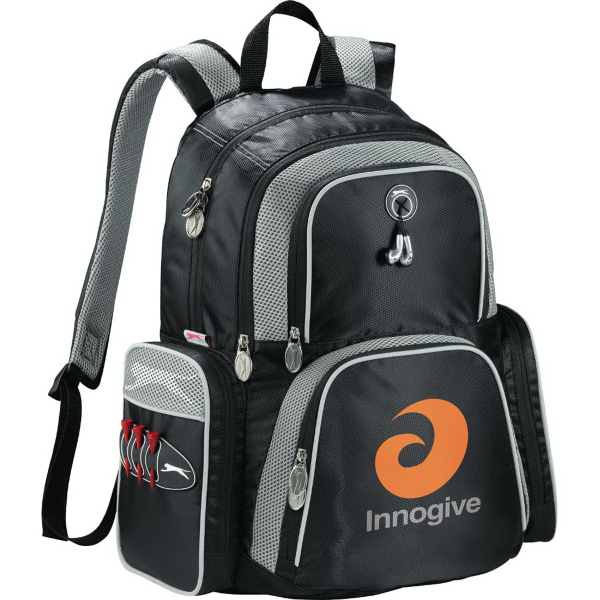 Custom Slazenger (TM) Turf Series Compu-Backpack