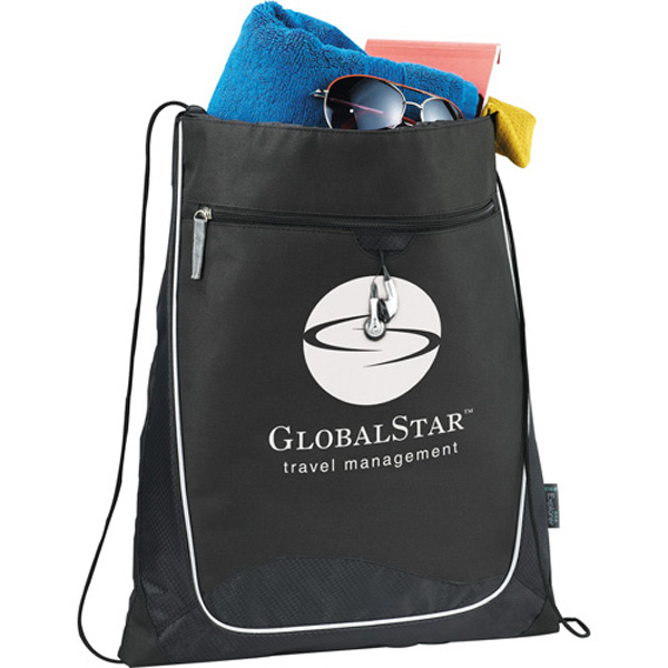 Personalized Explorer Cinch Bag