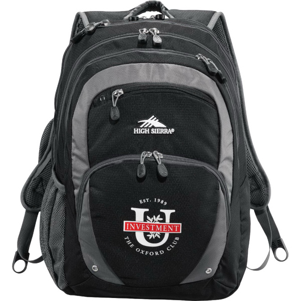 Imprinted High Sierra (R) Overtime Fly-By Compu-Backpack