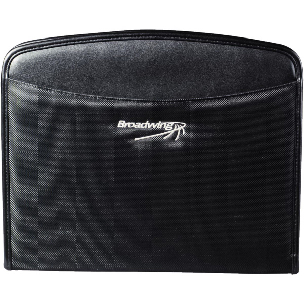 Imprinted Navigator Zippered Padfolio