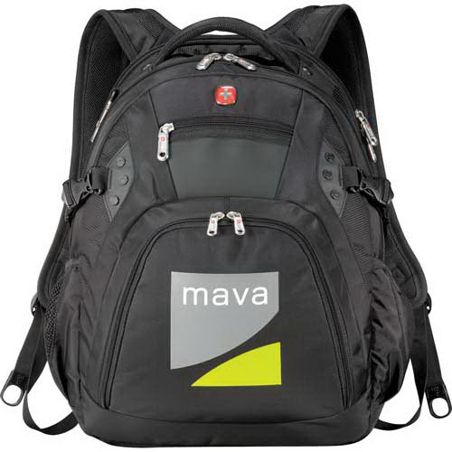Personalized Wenger (R) Edge Compu-Backpack