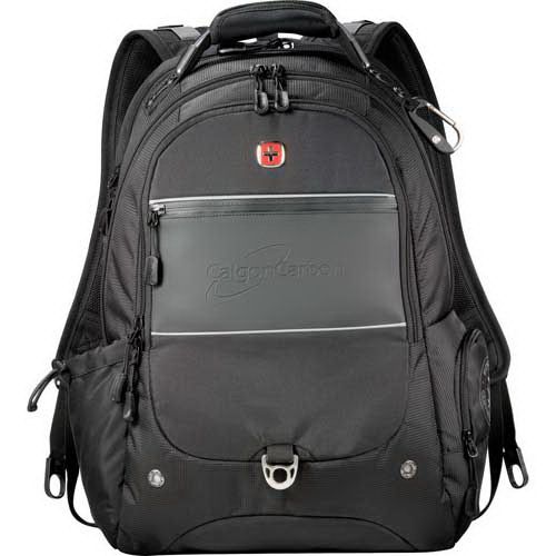 Imprinted Wenger (R) Scan Smart Journey Compu-Backpack
