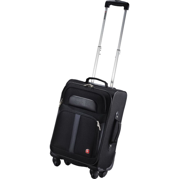 "Personalized Wenger 19"" 4-Wheeled Spinner Carry-On"