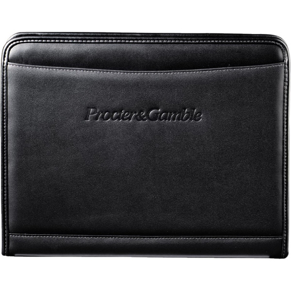 Imprinted Millennium Leather Writing Pad