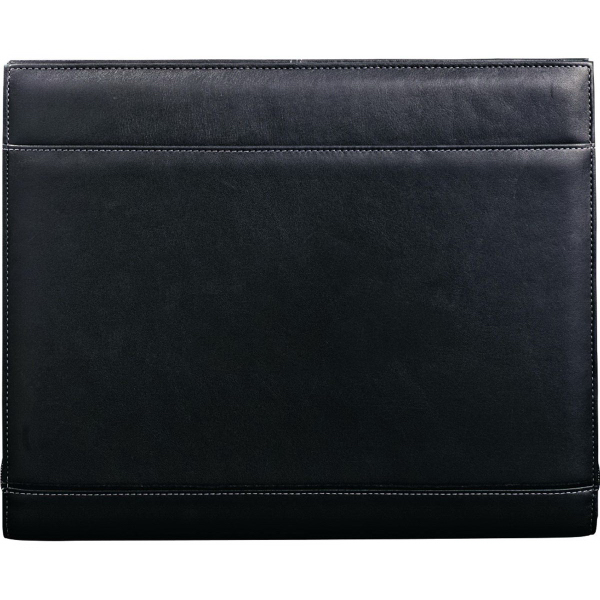 Printed Palazzo Leather Zippered Padfolio