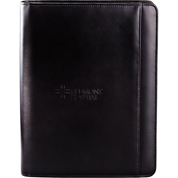 Printed Cutter & Buck (R) American Classic Zippered Padfolio