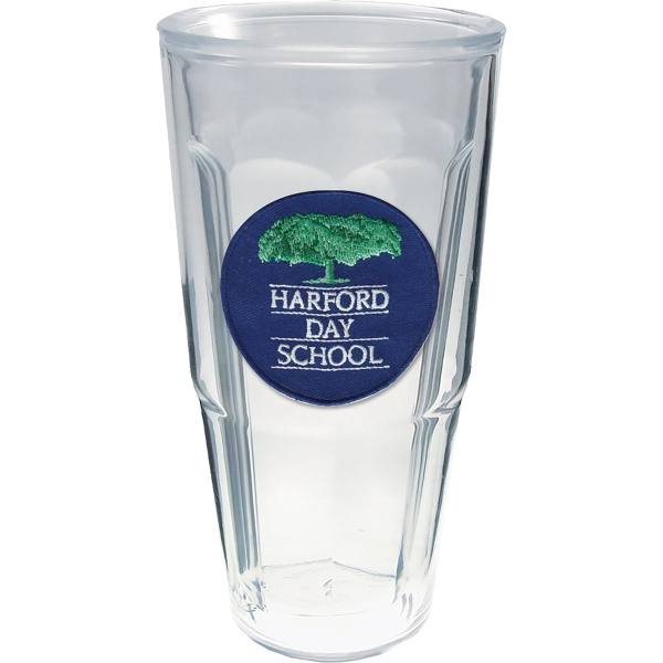 Promotional 24oz Thermal Tumbler with Emblem