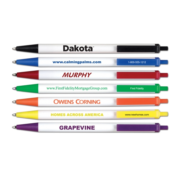 Custom Dakota Retractable Ball Point Pen