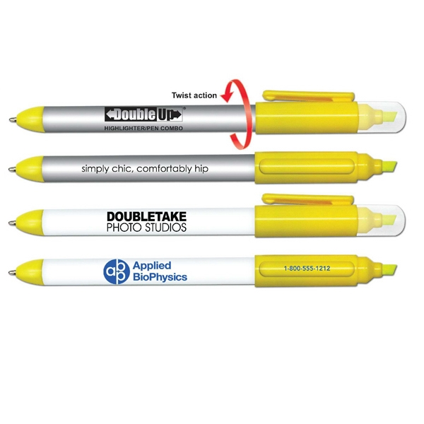 Custom Double Up Highlighter and Pen Combination