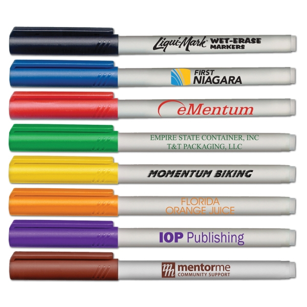 Personalized Fine Point Wet Erase Marker