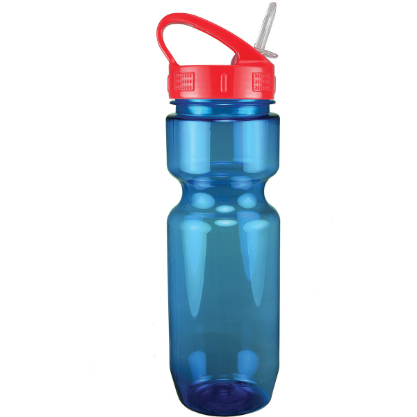Printed 22 oz Translucent Bike Bottle