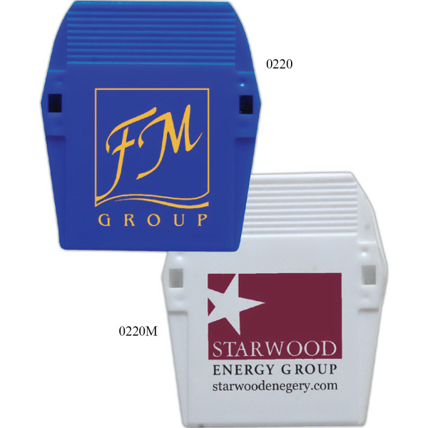 Personalized 2 Inch Safe-T-Clip With Magnetic Strip
