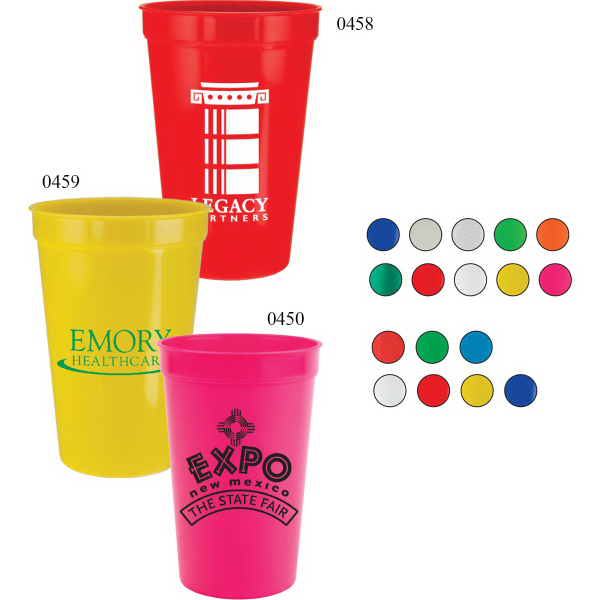 Imprinted 32 oz Stadium Cup