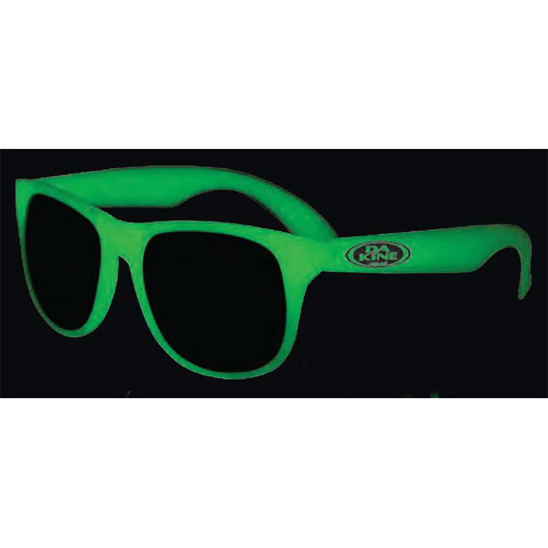 Personalized Glow in the dark sunglasses
