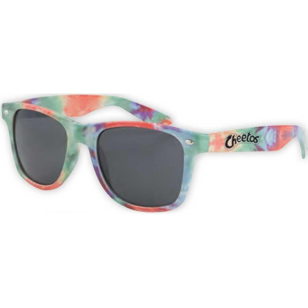 Promotional Tie dye sunglasses