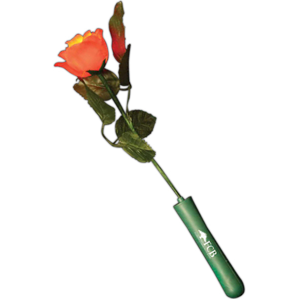 Personalized Blinking red rose