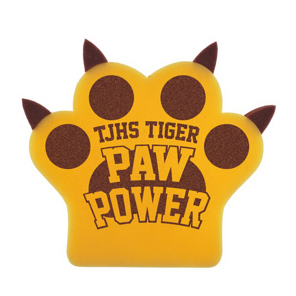 Personalized Foam Paw Mitts