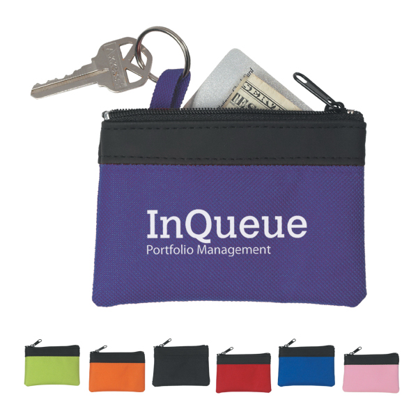 Promotional Zippered Coin Pouch