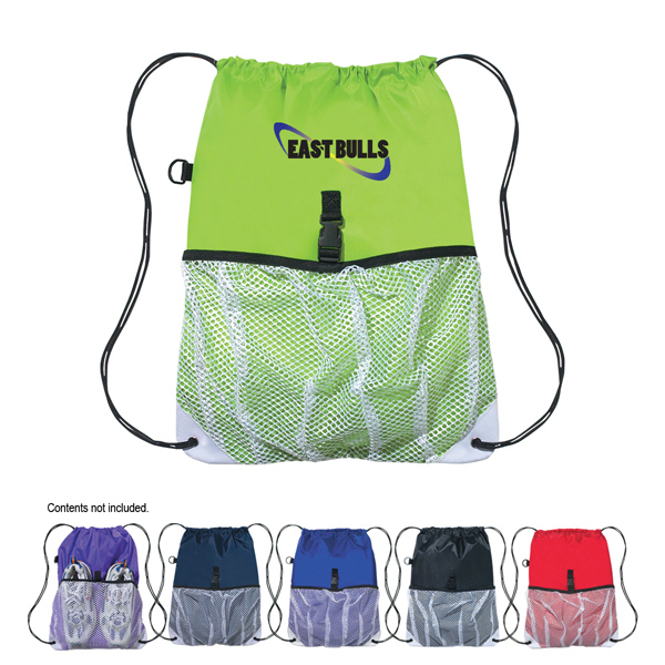 Promotional Hit Sports Pack With Outside Mesh Pocket