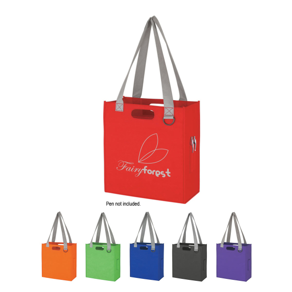 Printed Non-Woven Expedia Tote Bag