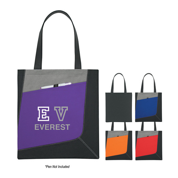 Custom Non-Woven Accent Tote Bag