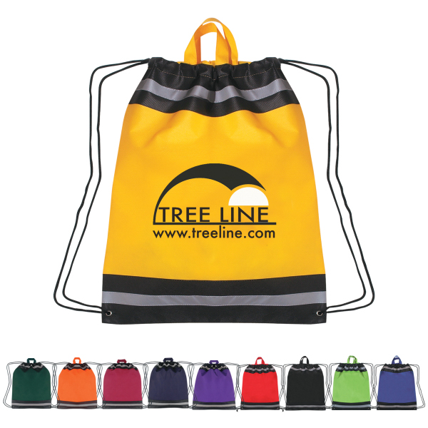 Personalized Large Non-Woven Reflective Hit Sports Pack