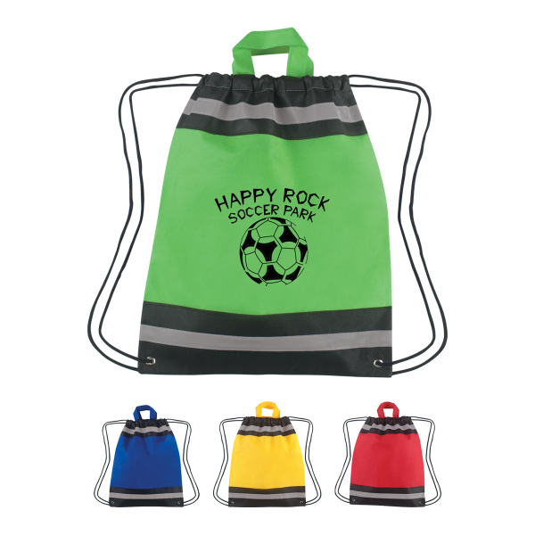 Customized Small Non-Woven Reflective Hit Sports Pack