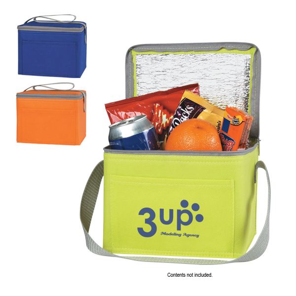 Personalized Non-Woven Six Pack Kooler Bag