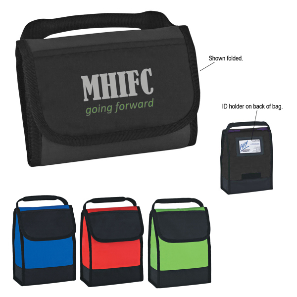 Personalized Folding Identification Lunch Bag