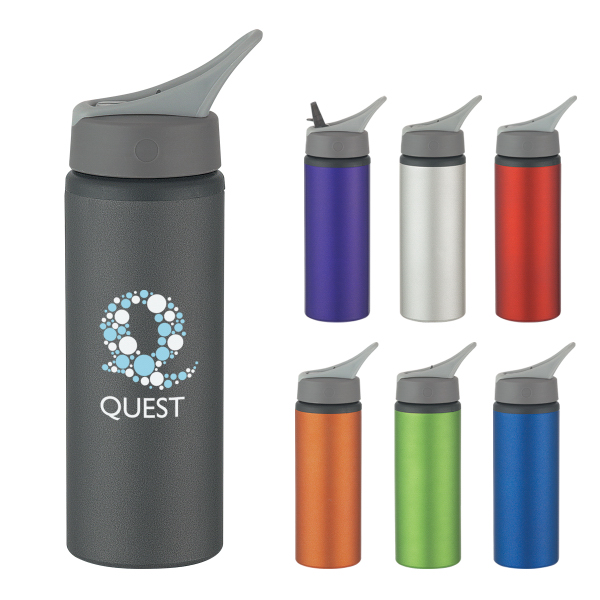 Promotional 25 oz. Aluminum Bike Bottle
