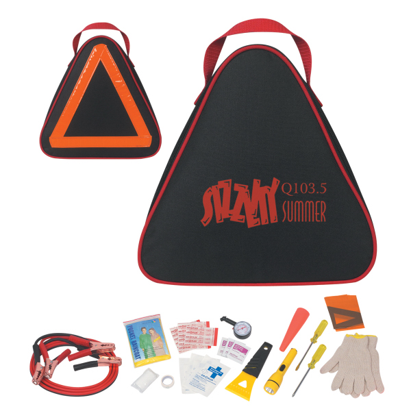 Imprinted Auto Safety Kit