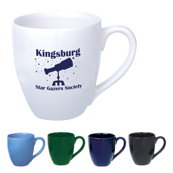 Imprinted 14 oz. Bistro Mug