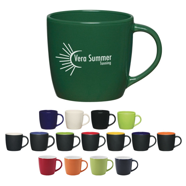 Promotional 12 oz Cafe Mug