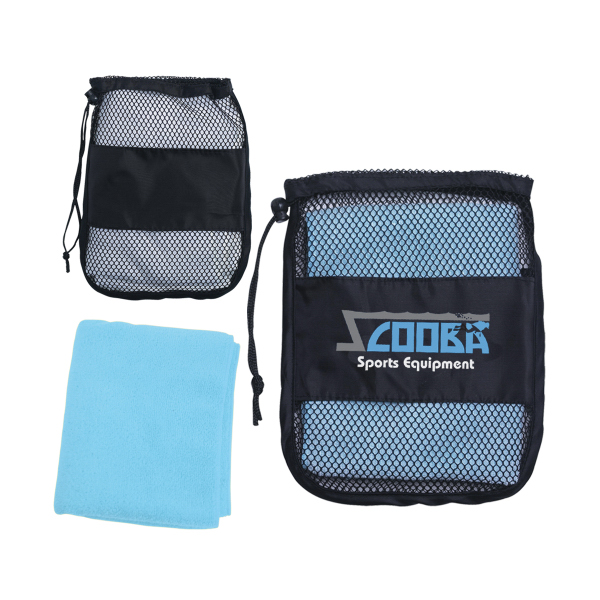 Personalized Sport Towel In A Bag