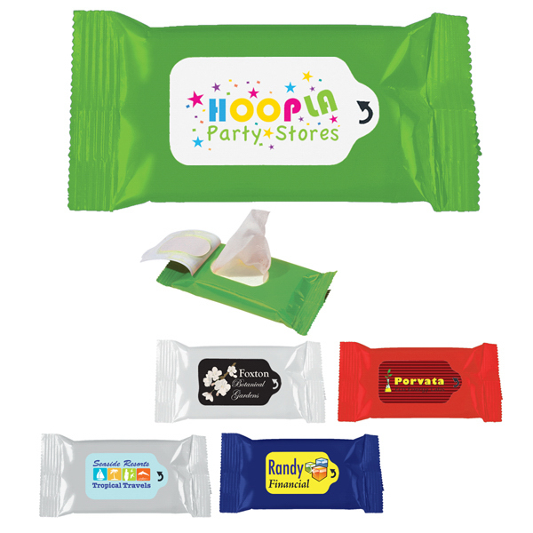 Customized Lens Cleaner Wipes Packet