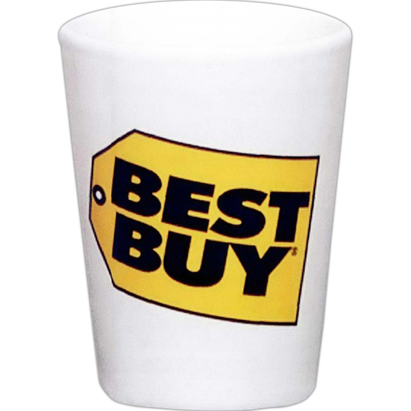 Printed Decal collector cup/ceramic shot - 1.5 oz