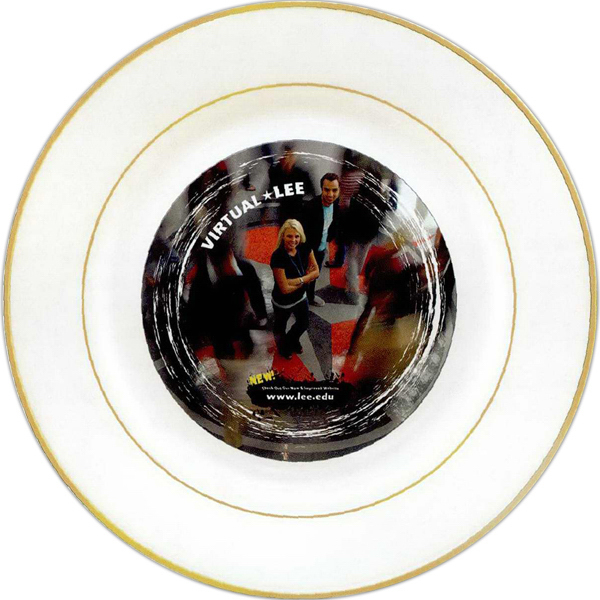 """Customized Full color sublimation porcelain plate - 8"""""""