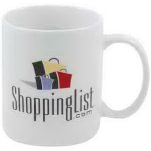 Promotional Decal fine porcelain diplomat mug - 11oz